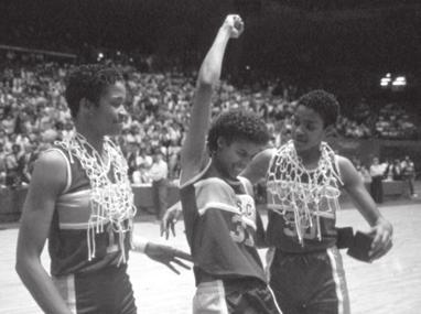 The -85 season was the only season in her four-year career that USC did not advance to the NCAA Final Four.