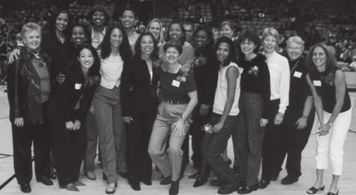 2003 LISA LESLIE Louis and Helene Galen donate $35 million to begin construction of the new campus events center.