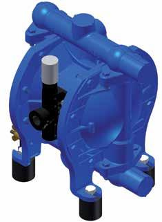 Pump Sizes and Equipment DH 25 - FA B S E T Connecting Dimension DN (mm) / inch Housing Material 15 / ½ Aluminium 25 / 1 Aluminium 40 / 1 ½ Aluminium Material Options Material Diaphragm Valve Seat