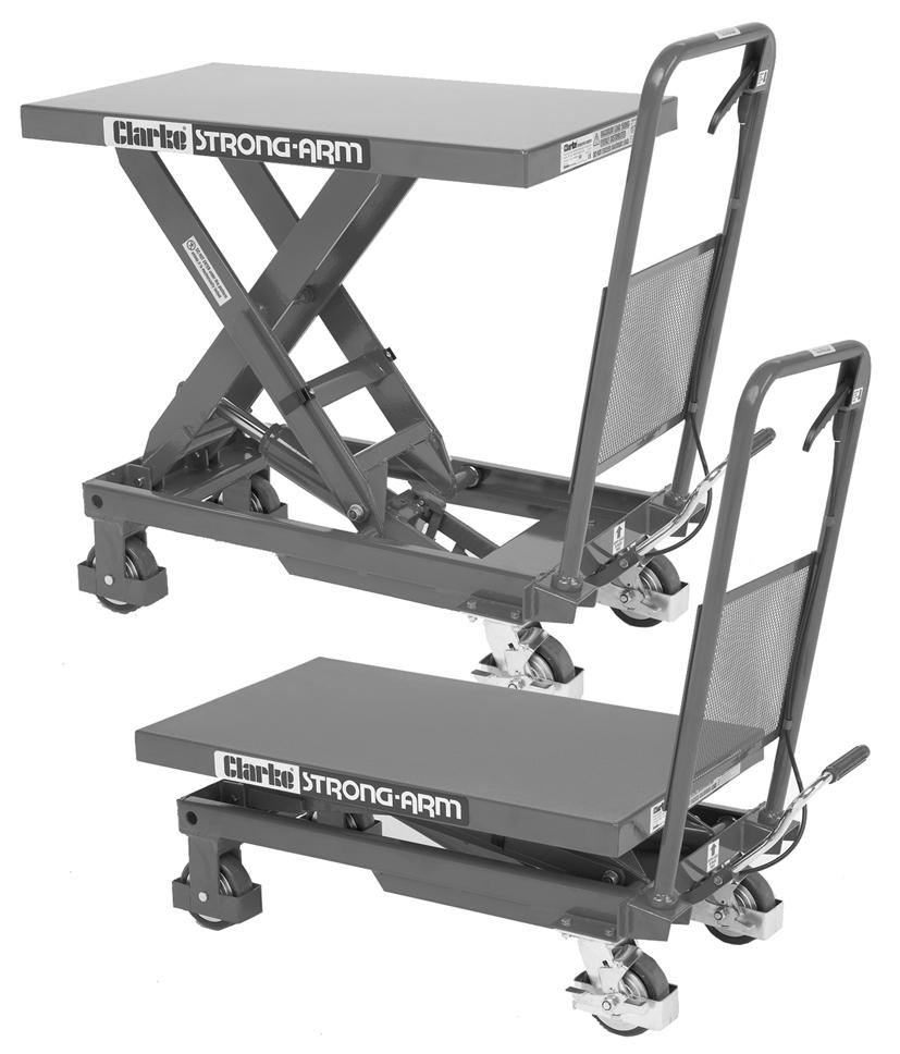 HYDRAULIC MOBILE LIFTING TABLE MODEL