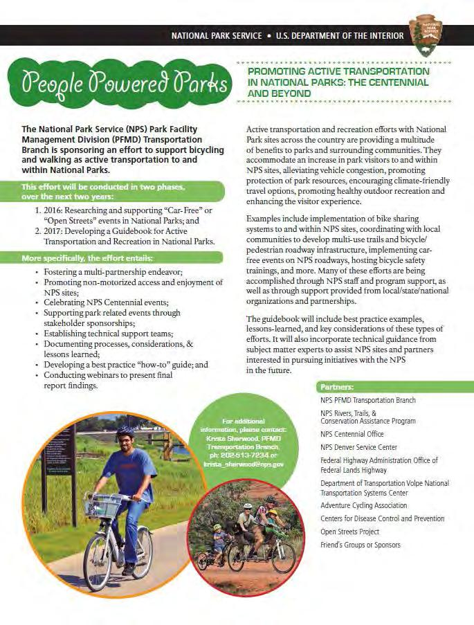 People Powered Parks Promoting Active