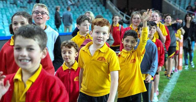 Page 17 WARATAHS SCHOOLS MARCH PAST 2016 NSW WARATAHS hold the Schools March Past