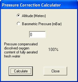 FIGURE 7: D-OPTO CALIBRATION WINDOW By pressing the Restore Defaults button, the original factory calibration values are reinstated by the D- Opto.