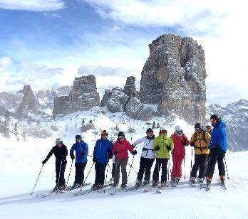 Ellmau It s not just the skiing that takes Ski Buzz to the Dolomites; recognised by UNESCO as