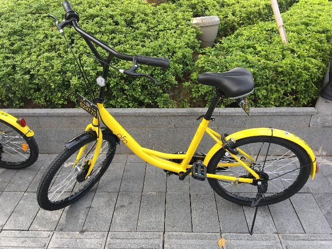 dockless shared bikes account for 25.