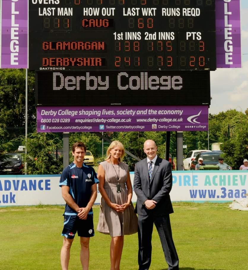 County Crick et Club ADVERTISING PACKAGES GROUND ADVERTISING SITES Build the profile of your business with prominent branding visible to over 70,000 people, who visit The 3aaa County Ground each year