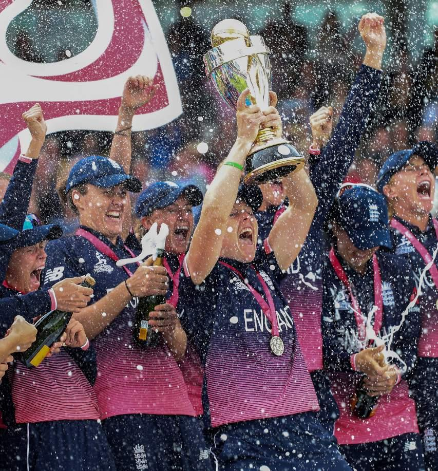 County Crick et Club HOSPITALITY PACKAGES ROYAL LONDON ODI ENGLAND vs NEW ZEALAND Tuesday 10 July 1pm World Cup winners