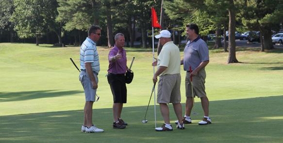 golftournament BIRDIE SPONSOR $7,500 u One VIP foursome includes cart, golf, lunch, and golfer gift for four golfers and premier seating for four at awards dinner u Company name and/or logo on: