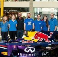 choice Tour of the Red Bull Racing factory