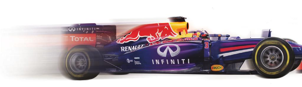 Infiniti Red Bull Racing static car The Challenge Champions will be