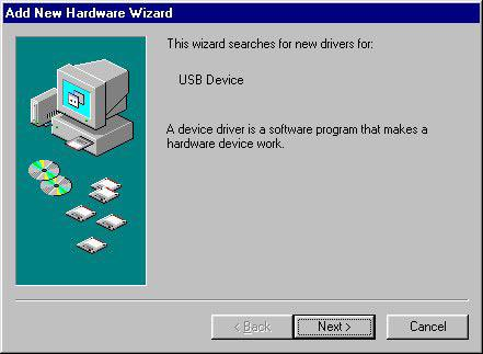 2. Installation A. Installing the USB Driver Install the USB driver from the CD-ROM provided by following the procedure described below. The procedure differs slightly depending on the compatible OS.