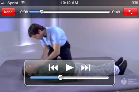 14 Figure 2.6 Tutorial video on doing CPR. 2.3.3 Drops First Aid Drop First Aid is a first aid mobile application developed by Dynamisk Helse AS.