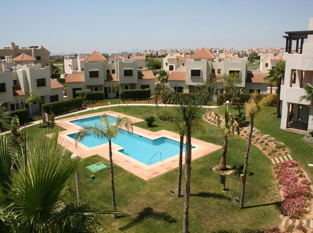 SOME PICTURES OF IAN & SUE JACKSON S APARTMENT & SURROUNDINGS View from terrace over pool, gardens & Roda Golf Course Phase III property with 2 bedrooms 1 double & 1 twin, plus cot available for