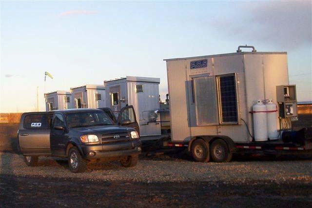 Inline Testing POS has a full line of mobile test trailers designed for inline gas measurement and G.L.