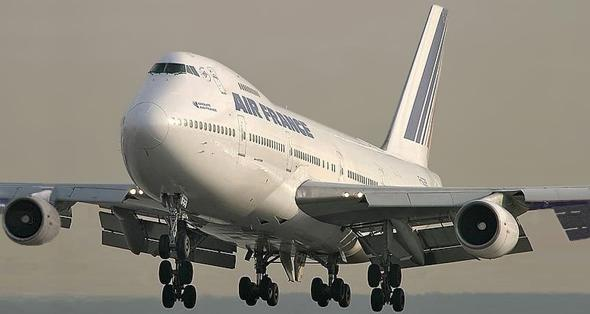 Passenger aircraft Boeing 747 (low wing) (Photo courtesy
