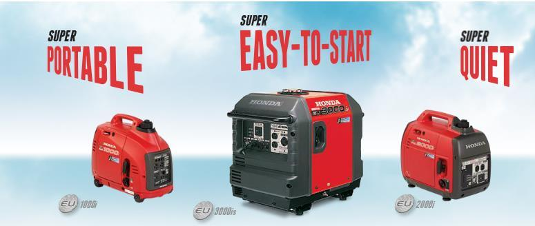 EXCLUSIVE HONDA RED RIDER GENERATOR OFFER Program Description: A Honda generator is the perfect companion for a weekend at the track.