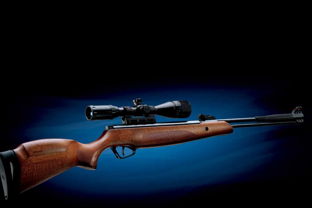 GENETICALLY ENGINEERED The DNA of a Stoeger AIRGUNS is extrapolated from some of the most elite pedigrees and performance collaborations in shooting.
