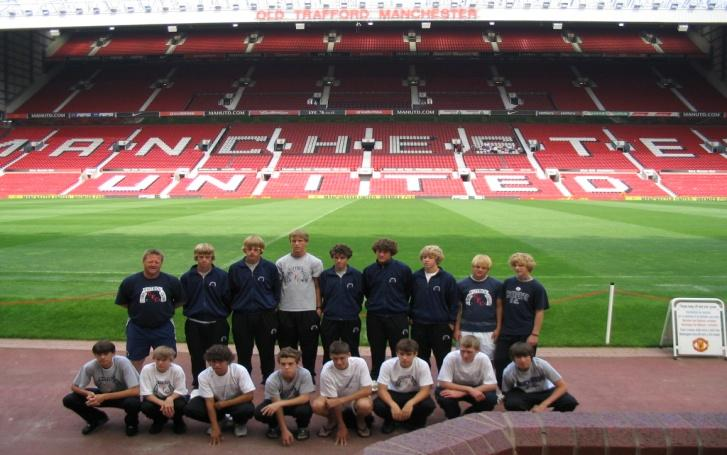 Day 5: Tour of The Theatre of Dreams, home of Manchester United FC Professional Training Session Tuesday July 28 th 2009 Breakfast at the University Cafeteria then experience a truly fantastic day