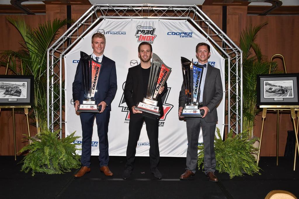 Mazda Road to Indy Presented by Cooper Tires Launched in 2010, the Mazda Road to Indy Presented by Cooper Tires is the official driver development program of the Verizon IndyCar Series and