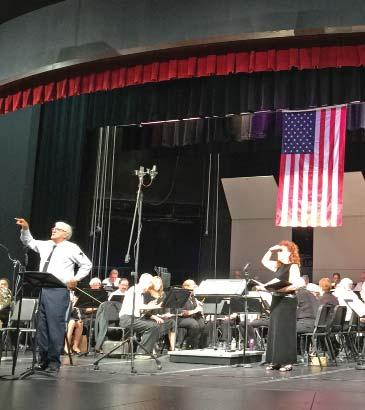SIGNATURE EVENTS Patriot Day Community Concert September 11 The 17 h Annual Patriot Day Concert is a crowd pleaser for the community.