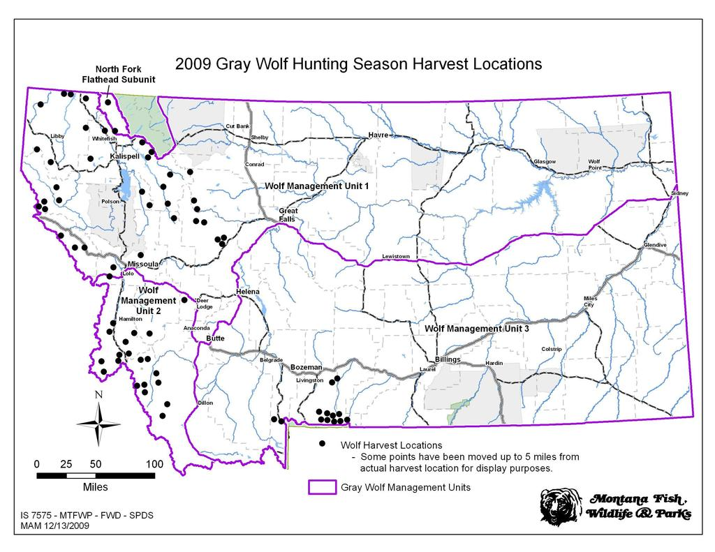 To learn more about Montana's wolf population, visit FWP at: www.fwp.mt.gov/wildthings/wolf.