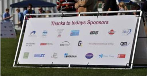 SUPPORT SPONSORS Category 2 Support sponsors will enjoy a high profile at the club with the package as follows: Company logo on the clubs 1 st XV rugby strip Company advert on inside pages of match