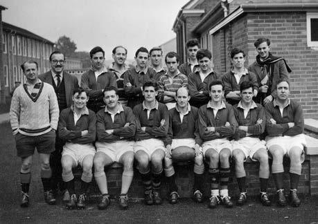 Rugby was first officially played in Stevenage in 1954 when the boys of the Alleynes Grammar School combined with their masters