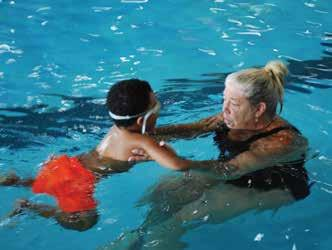 NAAC Aqua Tot 1 Ages 3-5 The purpose of this class is to increase the child s comfort level in the water.