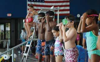 The 15-swim passes are valid for water fitness drop-in at AOSC and NAAC. Family 20- swim passes must have a minimum of 1 adult and 1 child per visit and follow the 1 adult per 5 children ratio.