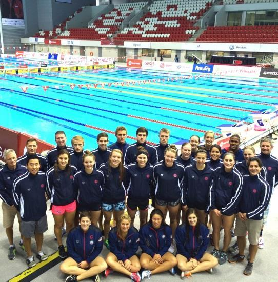 2015 18 & UNDER FINA WORLD CUP TEAM DATES & LOCATION TBA TBA Athletes must have a top 50 World Ranked time (girls) or top 75 World Ranked time (boys).