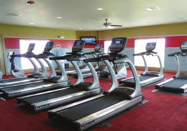 active lifestyle State of the art fitness center with