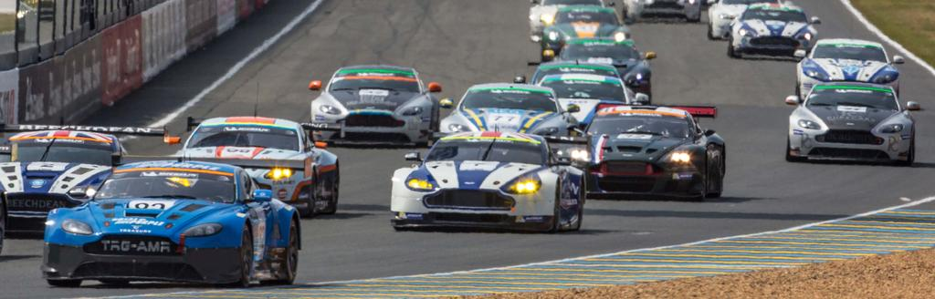 THE ASTON MARTIN LE MANS FESTIVAL Aston Martin returns to the fantastic Le Mans Festival race, previously held this iconic marque in 2015.