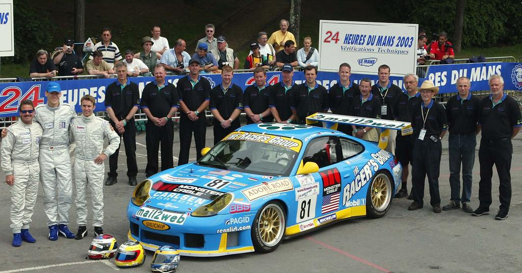THE RACERS GROUP LE MANS LEGACY In 2002, a little known