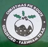 Christmaspie Route (0½ miles): Guildford-Tongham-Farnham (or 3 from Guildford centre) From the edge of Guildford in Park Barn, an off-road route to Tongham linking with the traffic-free Blackwater