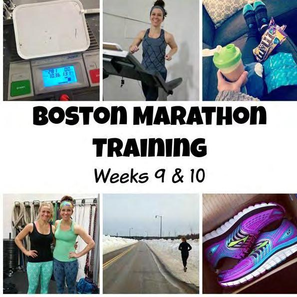 Week 9 Sunday: 2:30 long run Monday: Off Tuesday: 15/8 Yassos/15 Wednesday: Off Thursday: 3 miles Friday: Cross-training Saturday: 1:15 long run Total mileage: 36.