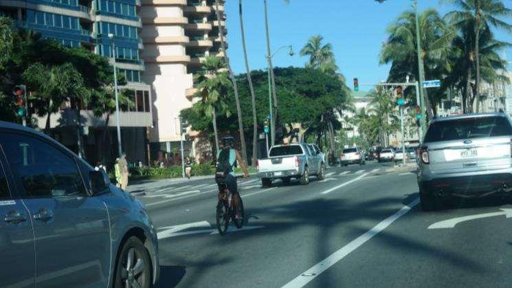Based on a limited analysis of bike and pedestrian injury rates (based on the EMS data) on the other roadways on Oahu, the number of both bicycle and pedestrian injuries are relatively high.
