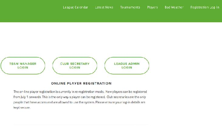 Team Manager Log-In All managers are pre-registered and if you haven t already then you should create