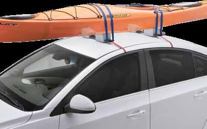 "Horizontal Kayak Carriers Jetty Deluxe 24"" SR5527 Fully adjustable foam"