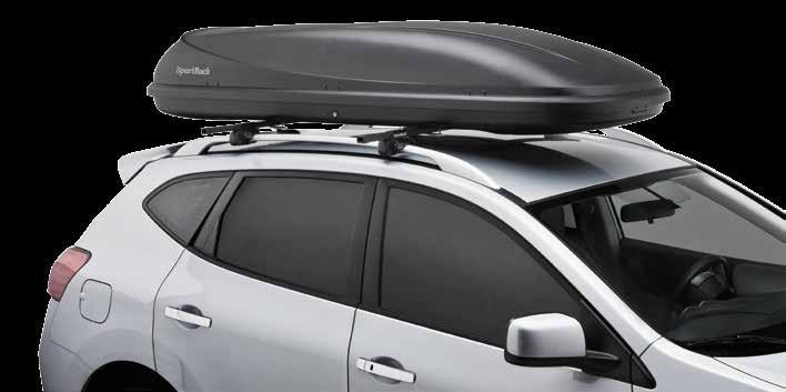 Cargo Boxes The Horizon Cargo Boxes are available in 3 sizes, are easy to install and fit most vehicle roof racks.