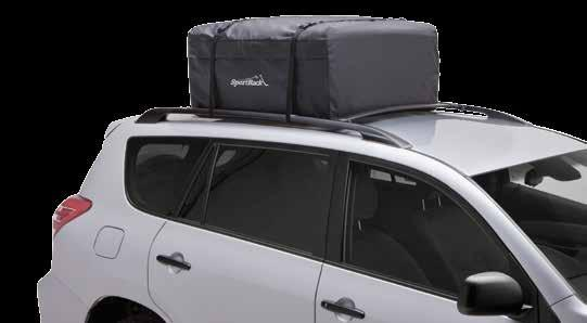 attach to roof racks or raised side rails Fits SportRack Roof Rack