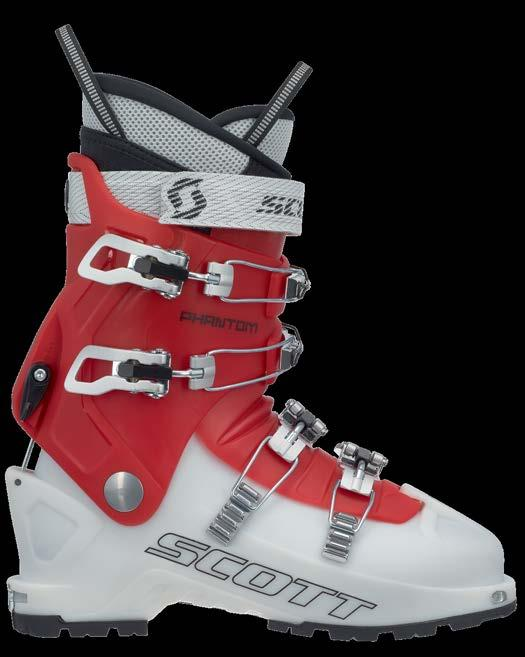 SCOTT PHANTOM WOMEN S 239784 The new SCOTT Phantom Women's is similar to the SCOTT Phantom, but designed specifically for ladies looking to get into the backcountry.
