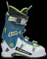 Throw on Dynafit certified tech inserts and this is the boot every mountain explorer was dreaming of last winter and will be using this winter.