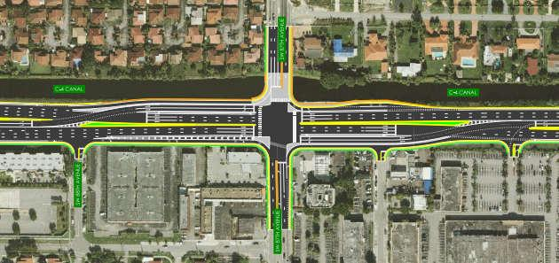 Conceptual Strategies Intersection Improvements Adaptive Traffic Signals Intersection