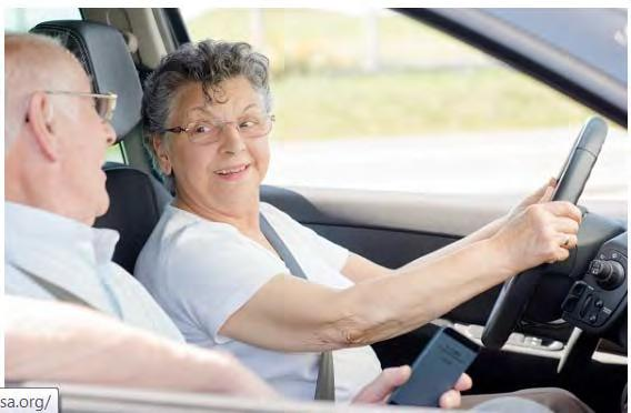 Tennessee Older Driver Safety Awareness Week December 2016 Co hosted with: