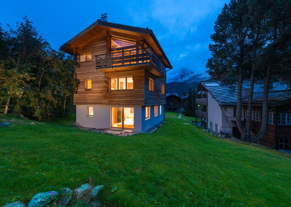 Chalet Uhu, Saas Fee, Switzerland Property Overview Chalet