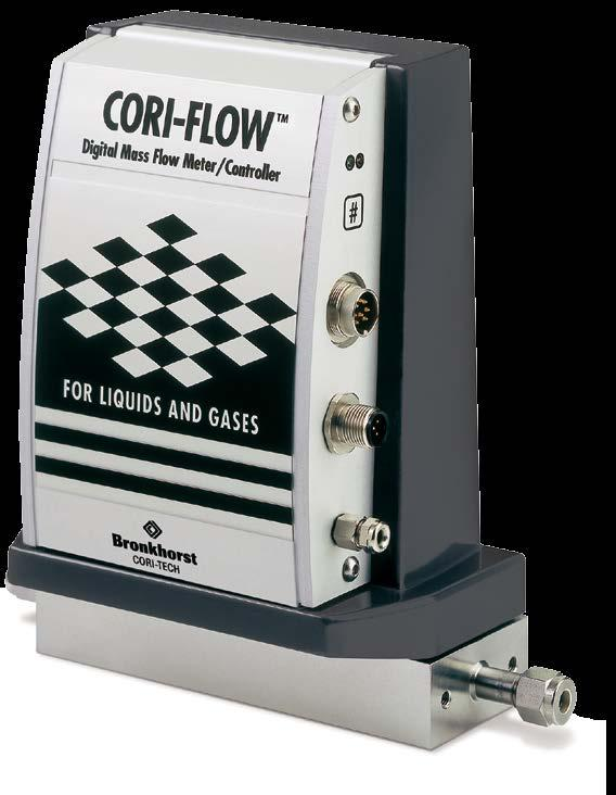 CORI-FLOW TM Precision Mass Flow Meters / Controllers for Liquids and Gases Introduction Bronkhorst Cori-Tech B.V.
