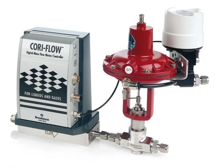 CORI-FLOW TM for Liquids and Gases Measuring principle The CORI-FLOW TM contains two parallel tube loops, forming part of an oscillating system.