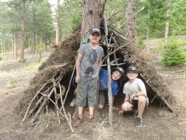 "Pathfinders ""Camp Experiences Ages 9-11 (cont.) Wild Skills Campers will practice the expertise needed to live primitively in the wild as they learn the important and fun skills of survival."