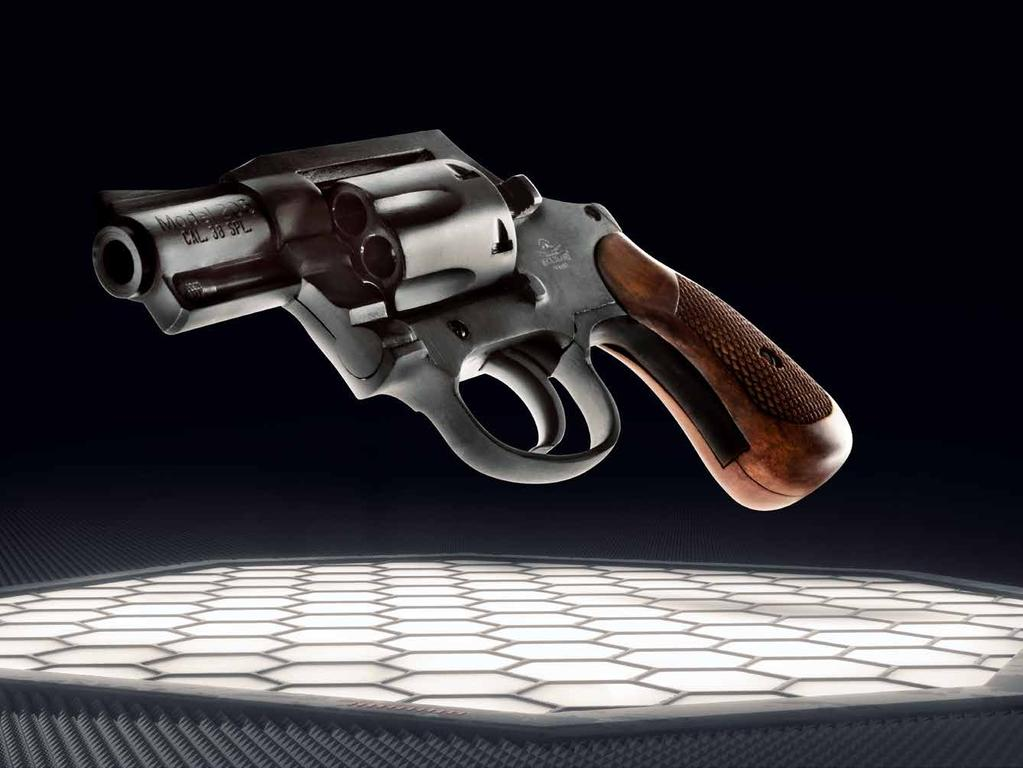 A classic design self-defense and concealed carry revolver where