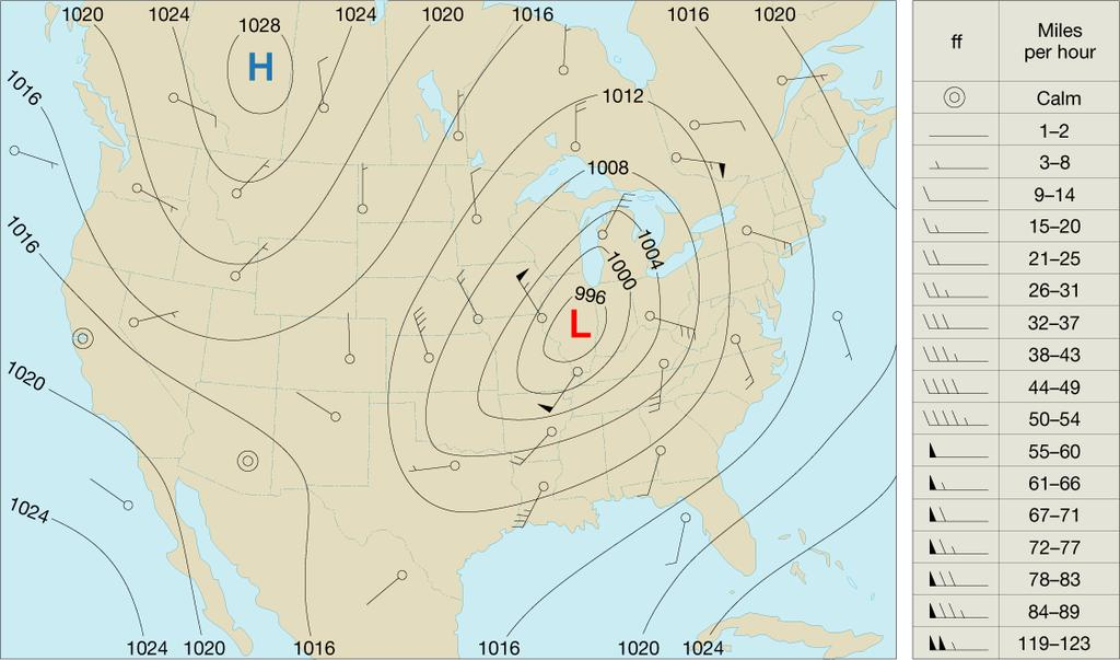 Isobars Factors Affecting Wind Coriolis Effect The Coriolis effect describes how Earth s rotation affects moving objects.